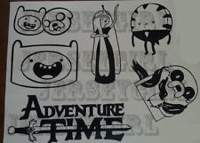 ADVENTURE TIME Inspired VINYL DECALS for CAR, WALLS, KIDS ROOM, ETC
