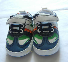 orange green blue boy shoes toddler shoes baby boy shoes US size1,2