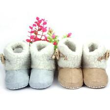 Winter Baby Boys Girls Cotton Boots Infant Anti Slip Snow Boots Prewalker Shoes