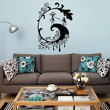 nightmare before christmas wall sticker ebay. Black Bedroom Furniture Sets. Home Design Ideas