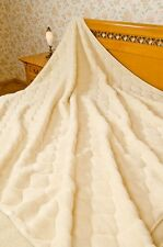 100 % Wool blanket- Cashmere 2 pattern 250X200CM WOOL4YOU- WOOL SLEPPERS FREE