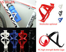New Bike Bicycle Water Bottle Cage Cycling Rack Sports Drinks Plastic Holder