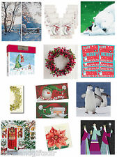 British Heart Foundation BHF Packs of Christmas Charity Cards Xmas Noel December