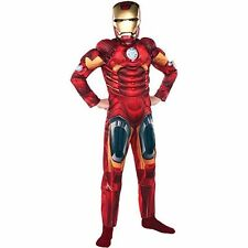 IRON MAN MUSCLE DELUXE COSTUME (Party City Exclusive 2012) For Boys # 186
