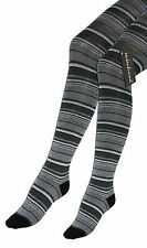 Women's Knitted Tights 2pc Set Cotton+Spandex Plain And Curled In Gray