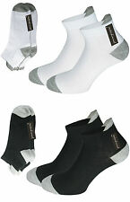 Sports Trainers Socks Sneakers Trainers Footlets Men's 12pc Pack 90% Cotton
