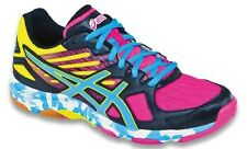 Asics Gel Flashpoint 2 Women's B456N.9046 Black/Pool/Hot Pink Volleyball Shoes