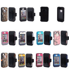 Defender Case With Build in screen protector w/Belt Clip For Apple iPhone 4 4S