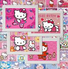 Hello Kitty Kitten Cat Picture Poster Print Bedroom Wall Decor gift (Set A)