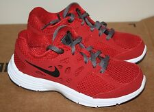 NEW Boys Nike Dual Fusion Lite Red/Black/white athletic running Shoes