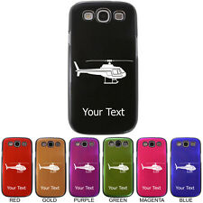 Personalized Engraved Helicopter Aluminum Case Cover for Samsung S3 i9300