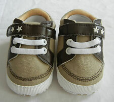 BEIGE STAR BOY shoes toddler shoes baby BOY shoes EUR size12,13,14