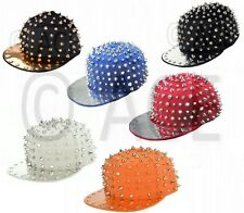 Hip Hop Full Studded Stud Studs Mens Womens Snapback Baseball Cap Hat