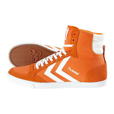 HUMMEL TRAINERS SLIMMER STADIL HIGH MENS CANVAS HI TOPS UK 7 POPSICLE