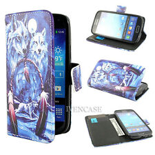 Wallet Wolf F80 Flip Stand Leather Case Cover Skin For Many Smart Phones +2 Gift