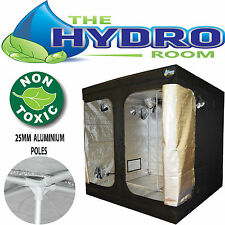 Indoor Grow Tenda 1,2 x 1,5 x 2,4 x Scatola Luminosa Foderato in alluminio per ventilatore sia coltura idroponica