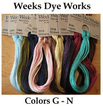 Weeks Dye Works - Colors G - N - YOU CHOOSE **Buy 10+ for FREE SHIPPING