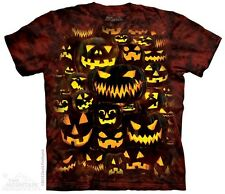 Jack O Lantern Wall Kids T-Shirt from The Mountain. Boy Girl Child Sizes NEW
