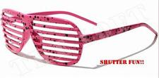 Party Glasses Trendy Shutter Shades Colorful Fun Plastic Great Colors sp303