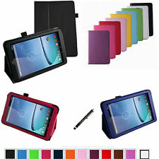 "For 8"" Hisense Sero 8 E2281 Android Tablet PC 2-Folding Folio Leather Case/Pen"