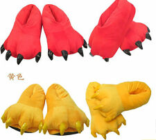 Animal Paw Slippers Big Foot Monster Feet Footwear Kigurumi Shoe Cosplay Costume