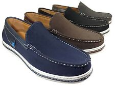 New Men Driving Shoes Leather Casual Moccasins Slip On Loafers Pizarro