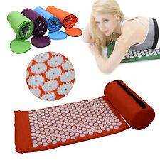 Fashion Healthy Acupressure Mat Acupressure Mat Pillow + Free Bag+ Free Ship Hot