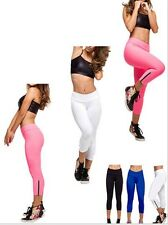 yoga Womens Stretch Biker Shorts Spandex Tights Leggings Pants XS-L