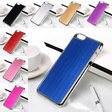 "2014 Hot sale Brushed Cover Hard Case For iPhone 6 4.7"" Fashion 8 Colors"