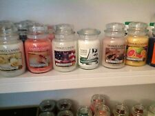 YANKEE CANDLE 22oz Large Jars COLLECTORS Rare & New SCENTS NEW FALL SCENTS