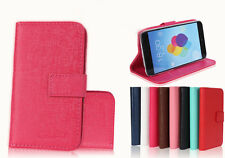 JGW Magnetic Flip Card Wallet Stand PU Leather Case Cover For Alcatel One Touch