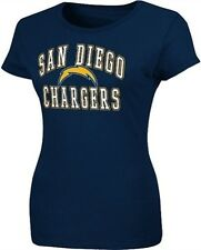 San Diego Chargers NFL Team Apparel Women's Her Progress Shirt Plus Sizes