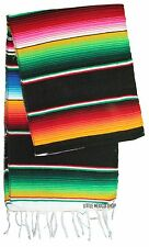 "SERAPE Runners ALL COLORS 16""x72"" Saltillo Throw Runner Woven Fiesta Falza"