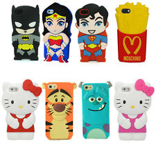 3D Cartoon Superhero Soft Silicone Rubber Case Cover For Apple iPhone 6 / Plus