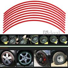 Set Car Wheel Rim Tape Stripe Striping Decal Sticker Trim Red 6mm/8 mm /10mm