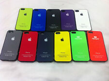 Back Case Cover for Apple Iphone 4/4G/4S/5/5S Mobile !!!Silicon Cover!!!