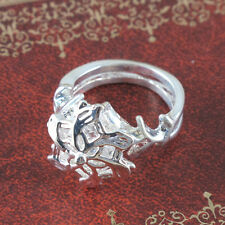 Big Crystal Lord of the Rings Nenya Galadriel Ring of water ta1629