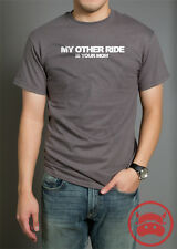 MY OTHER RIDE IS YOUR MOM TE SHIRT funny car gift ideas for car guys racing