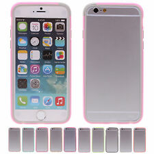 """Hot Sale Luxury Splicing TPU+PC Protector Bumper Frame For Apple 4.7"""" iPhone 6"""