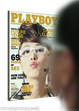 Man of the Year Magazine Cover Mirror Supermodel Mimicking Reflector Mirror