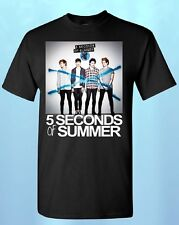 5 Seconds of Summer New Album Logo T-SHIRT New 5 SOS shirts 1D shirt 5sos tees