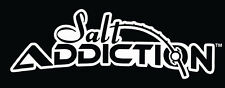 Salt Addiction Logo Decal,Flats fishing,offshore,reel,life,rod,marlin,snook