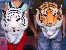 King of The Jungle Backpack Tigerdome Backpack / Tiger Head Plush Backpack