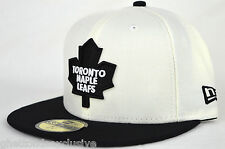 *NEW* TORONTO MAPLE LEAFS NEW ERA 59FIFTY FITTED HATS (AIR JORDAN WOLF GREY 3S)