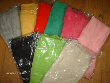 EXTRA LONG CHIFFON SCARF/SARONG IN SOLID 9 COLOURS