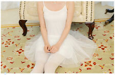 All-Match Lolita Princess 3 Layers Suspender Pure/Star/Pearl Gauze Skirt 3colors
