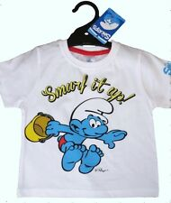Boys SMURFS Shirt ~ Size 1, 2 & 7 ~ New With Tags