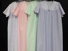 EMBROIDERED(100% COTTON) NIGHTDRESS *FREE POSTAGE(UK ONLY)