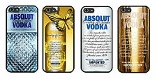 Absolute Vodka for iPhone 4 4s 5 5s 6 Samsung S3 S4 S5 Mini Sony HTC Case Cover