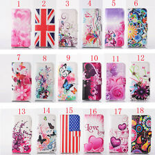 Printed Magnetic Wallet Pocket Love Leather Stand Flip Patterned Case Cover